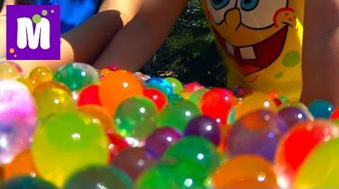 Видео ORBEEZ сюрпризы игрушки с разноцветными шариками Орбиз