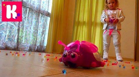 Видео Орбиз Божья коровка на р/у/ игровой набор Orbeez Ladybug Scooper