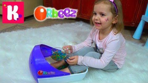 Видео Орбиз цветные шарики / Спа Процедуры с накладными ногтями