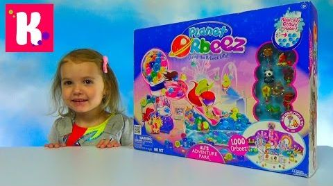 Видео Орбиз Парк приключений / Обзор игрушки /Распаковка набора с шариками Orbeez