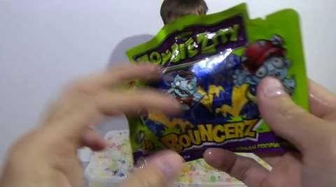 Видео Орбиз сюрпризы игрушки с разноцветными шариками гидрогель Orbeez