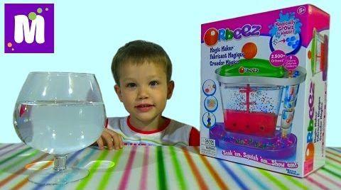 Видео Орбиз волшебная фабрика набор c разноцветными шариками