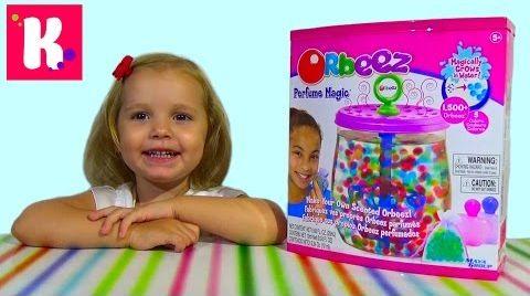 Видео Орбиз волшебный парфюм/ набор c разноцветными шариками/ Orbeez