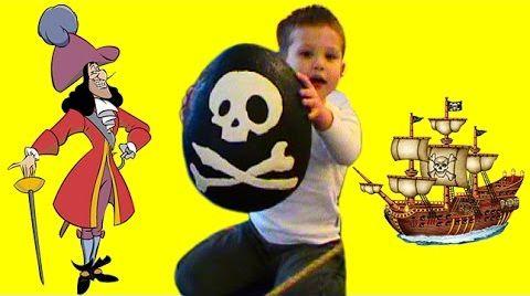 Видео Открываем игрушки Пираты с сюрпризом