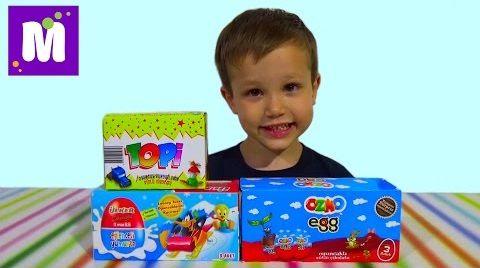 Видео Озмо ТОПИ сюрпризы с игрушками распаковка