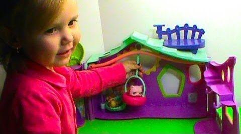 Видео Пет Шоп домик / Маленький зоомагазин LPS / обзор игрушек