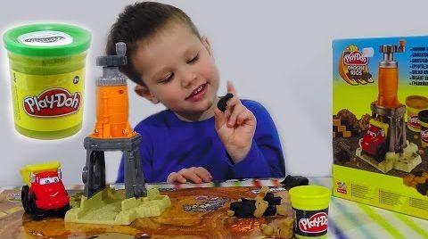 Видео Play- Doh набор Чак гравийный завод