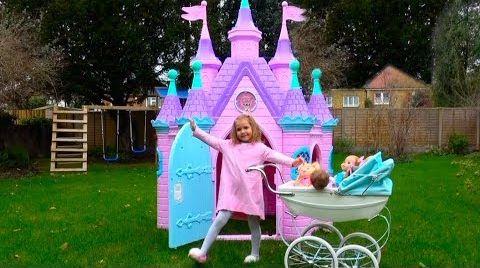 Видео PlayHouse Замок Принцесс и КУКЛЫ /Тигр Амурчик/ LOL и Мои подарки на НЕ в День Рождения / Baby Dolls