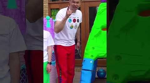 Видео Пол лава с Максом и Катей #shorts