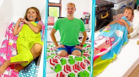 Видео Поменялись комнатами с Катей и Максом