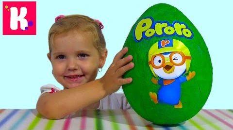 Видео Пороро сюрприз/ распаковка игрушек Pororo