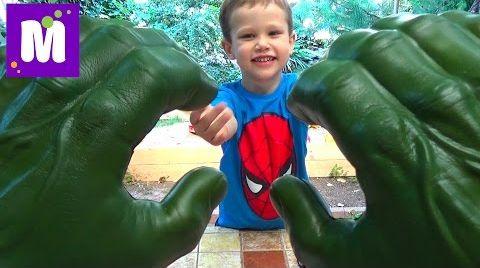 Видео Посылка с игрушками Марвел и Тачки распаковка