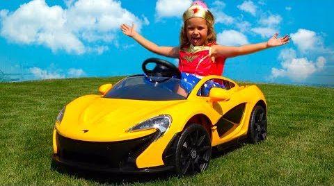 Видео Power Wheels МАШИНА Подарок для мальчика Егорки/ Обзор игрушки MacLaren