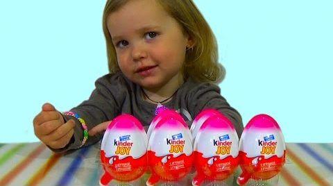 Видео Принцессы Дисней Киндер/ обзор игрушек