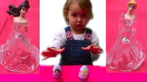 Видео Принцессы Дисней сюрпризы / обзор игрушек