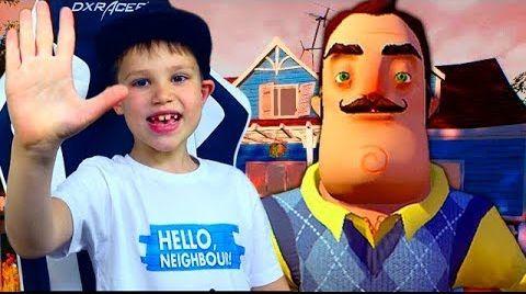 Видео Привет сосед АКТ 3 Глобус в Холодильнике / Hell Neighbour Let's Play