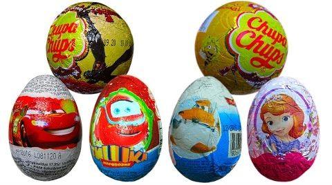 Видео Распаковка яиц с сюрпризом