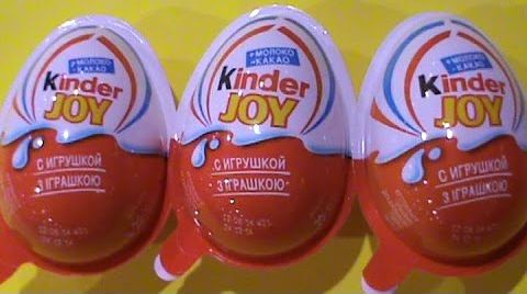Видео Рио2 на русском игрушки Киндер Джой сюрприз