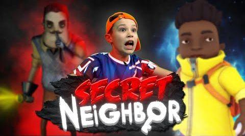 Видео Secret Neighbour Почему там так темно?!!