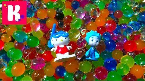 Видео Шарики растущие в воде ORBEEZ/ сюрпризы в шариках Орбиз