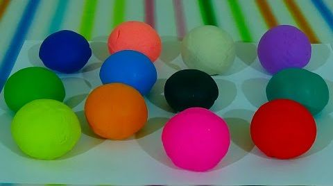 Видео Шарики с сюрпризом в Play-doh/ обзор игрушек