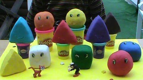Видео Смурфики игрушки ПлэйДо сюрприз