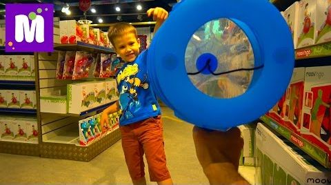 Видео СУПЕР Огромный магазин игрушек Hamleys 6 этажей миллионы игрушек и целый этаж конфет