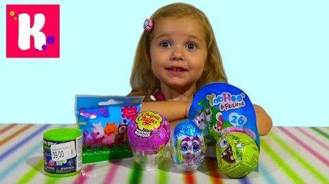 Видео Сюрпризы с игрушками/ распаковка