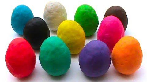 Видео Сюрпризы - яйца из теста ПлэйДо / обзор игрушек
