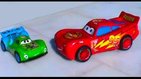 Видео Тачки на русском Молния Маквин Игрушки машинки гонки