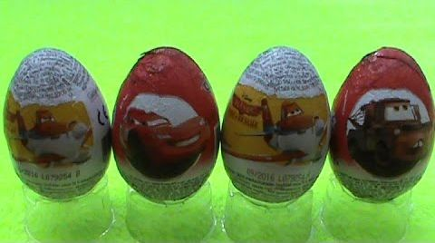 Видео Тачки2 Летачки Сюрприз яйца