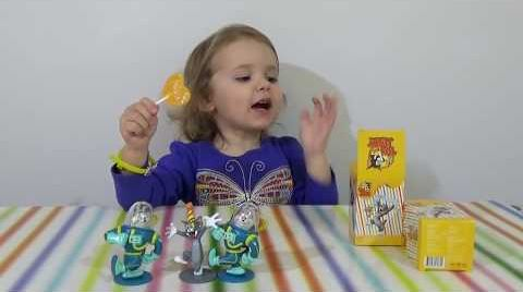 Видео Том и Джери коробочки с сюрпризом/ обзор игрушек