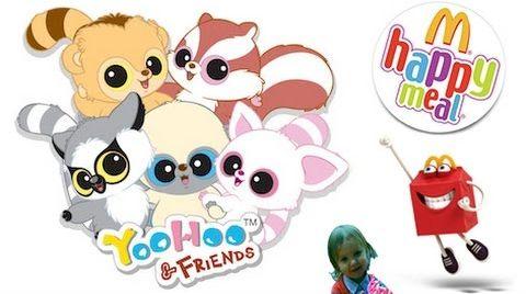 Видео Юху и его друзья игрушки из Макдональдс/ Хеппи Мил /YooHoo и Friends