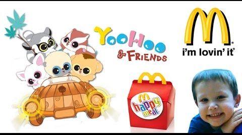 Видео Юху и его друзья Поход в Макдональдс на Хеппи Мил YooHoo и Friends