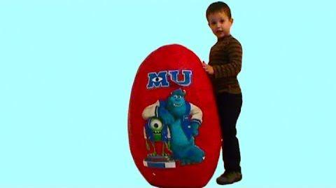 Видео Университет Монстров огромное яйцо игрушки университет Монстров на русском
