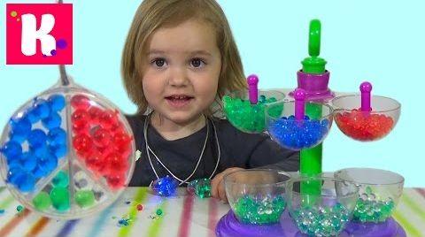 Видео Ювелирная мастерская Орбиз c разноцветными шариками Orbeez