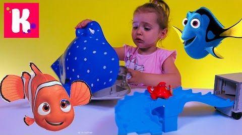 Видео В поисках Дори / Обзор игрушек