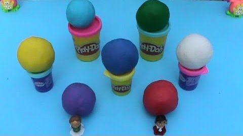 Видео Веселый Класс Яйца сюрприз ПлэйДо Play-Doh игрушки