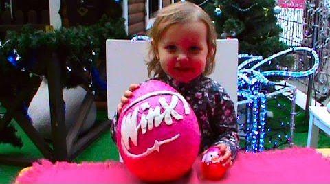 Видео Винкс клуб огромное яйцо сюрприз / обзор игрушек/ Winx Club