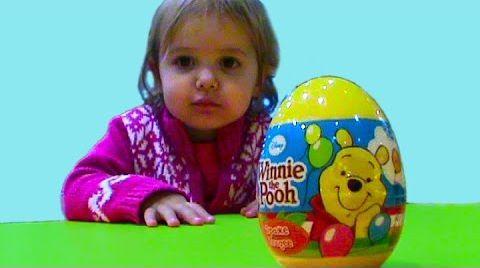 Видео Винни Пух яйца с сюрпризом / обзор игрушек