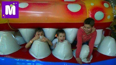 Видео ВЛОГ детский развлекательный центр и встреча с подписчиками в Sky Park