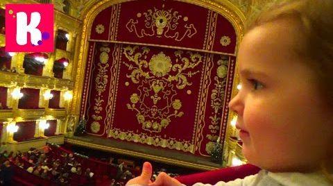 Видео VLOG идём на детский балет