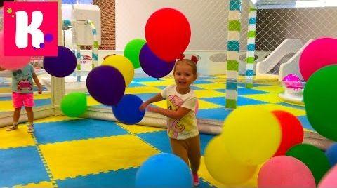 Видео ВЛОГ Киев/ гладим животных/ играем на детской площадке Kidswill/ магазин игрушек