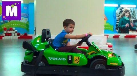 Видео ВЛОГ Киев Кидсвилль играем фермера и водим машину посетим магазин игрушек Kidswill