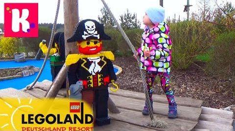 Видео ВЛОГ/ Летим в Леголенд/ Германия /размещаемся в Лего отеле /Legoland Feriendorf Germany