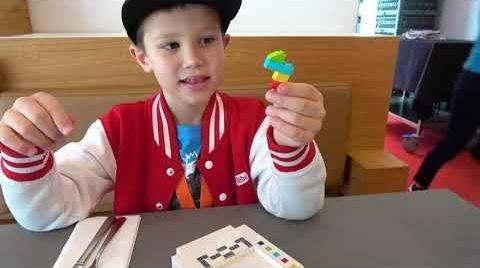 Видео ВЛОГ Перезагрузка Lego House Дания Белунг Макс и папа на открытии