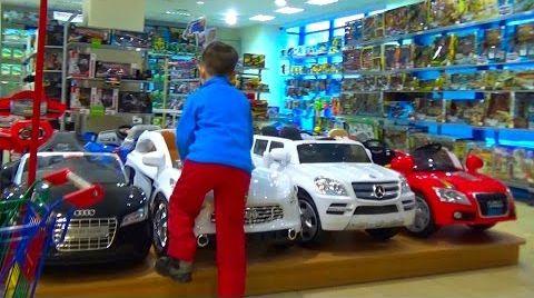 Видео VLOG Поход в магазин за игрушками