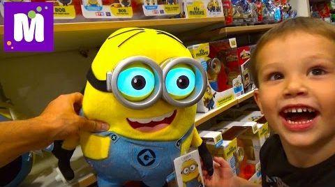 Видео VLOG Шопинг в магазине игрушек делаем покупки
