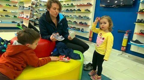 Видео VLOG Шоппинг в детском магазине обуви