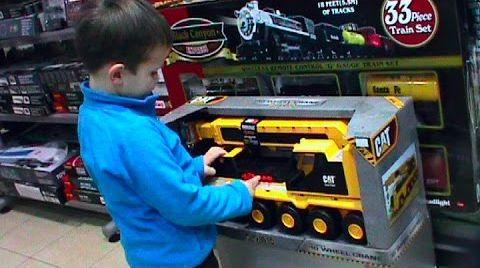 Видео VLOG В детском магазине игрушек